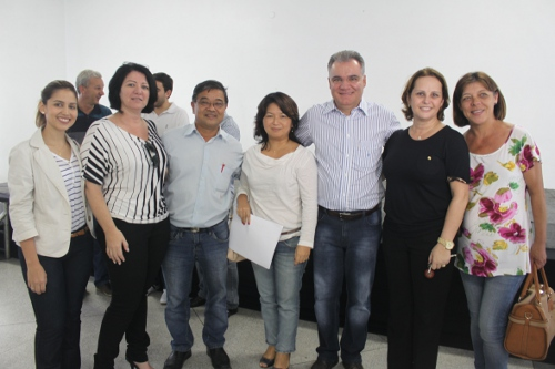 Integrantes do CONSAÚDE estiveram presentes durante evento. (foto: Roberto Dezorzi)