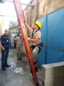 Capacitação foi aplicada pelo Sesmt do HRI/CONSAÚDE.