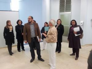 Grupo do Ministério da Saúde visitou diversas instalações do HRLB/CONSAÚDE.
