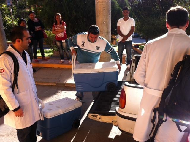 Equipes de São Paulo chegam para captação de órgãos, dia 30 de julho.