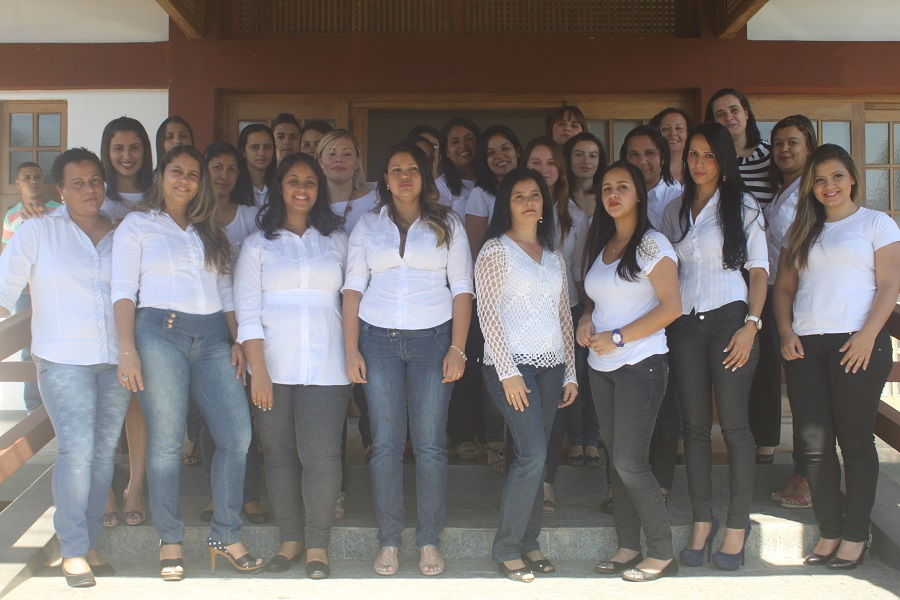 A turma de Registro/SP esteve representada por 33 alunos.