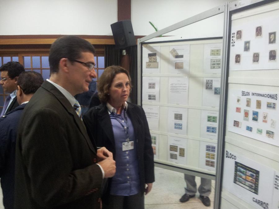 Diretora Superintendente do CONSAÚDE esteve presente no evento.