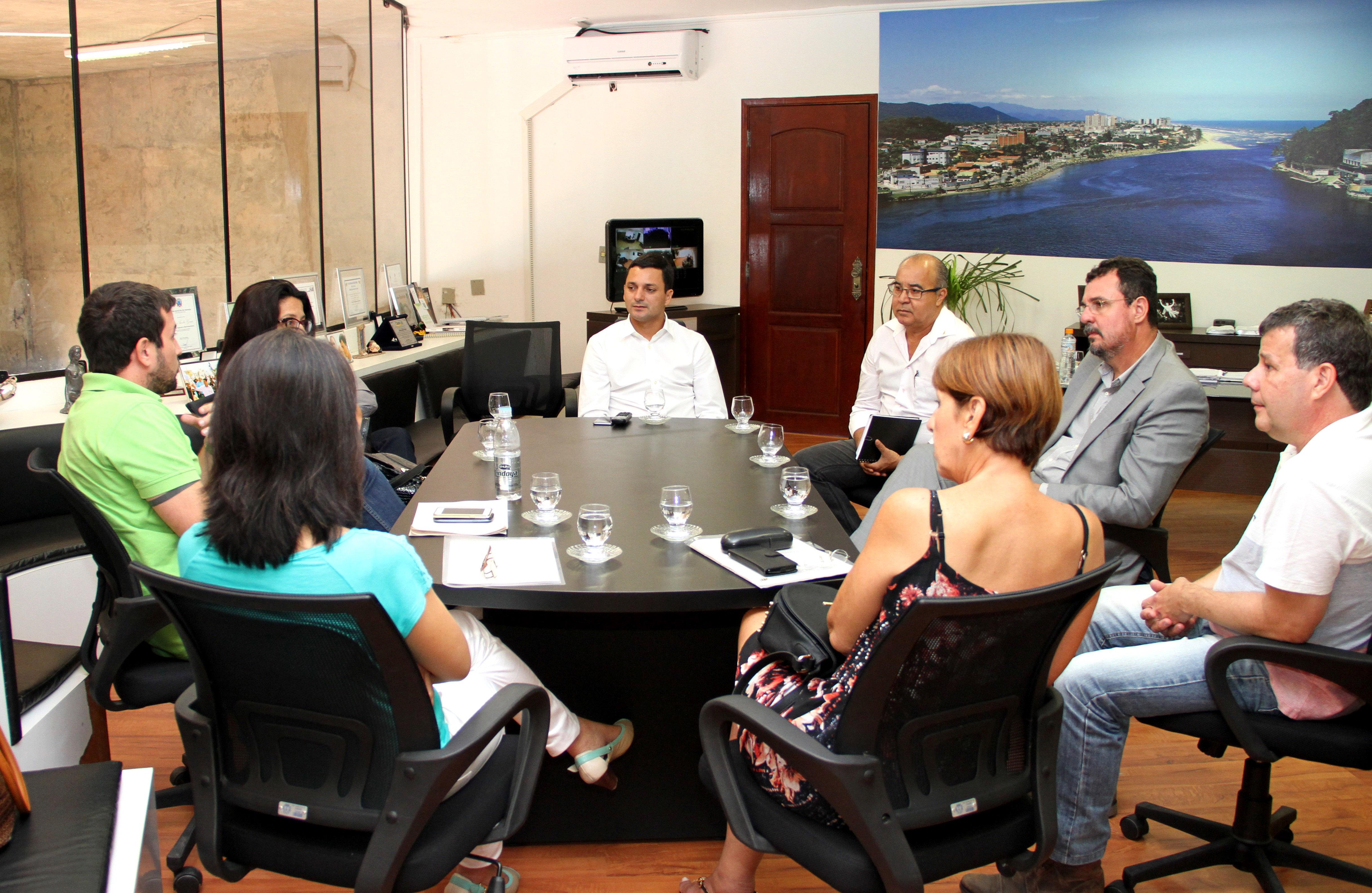 Reunião equipe técnica Consaúde